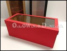 Duże pudełko na prezent czerwone