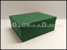 Zielone pudełka na prezenty