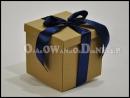 pudełko na prezent eko karbowane