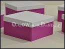 Pudełka ozdobne na apaszkę, bieliznę