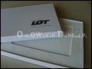 Białe pudełko na kartę podarunkową