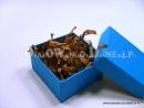 Niebieskie pudełko ozdobne
