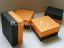 Pudełka ozdobne 8x8x4 cm, 9x9x4 cm