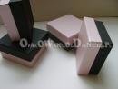 Pudełka ozdobne - perłowe różowe