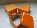 Pudełka ozdobne - pomarańczowe