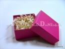 Różowe pudełko ozdobne na prezent