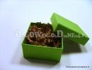 Pudełka ozdobne na prezenty - zielone