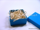 Niebieskie pudełka ozdobne