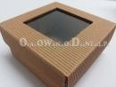 Eko pudełko ozdobne z okienkiem