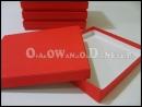 Czerwone pudełko ozdobne, pudełka ozdobne na cd