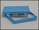 niebieskie pudełko ozdobne na cd