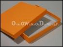 Pudełko ozdobne pomarańczowe