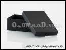 Ekskluzywne czarne - pudełko ozdobne na prezent