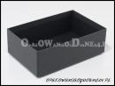 Ekskluzywne czarne pudełko ozdobne -spód