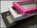 Pudełka z okienkiem -różne kolory