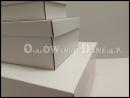 Zaręczynowy zestaw białych pudełek