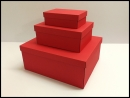 Pudełka na prezenty czerwone