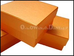 pomaranczowe-perłowe-pudełko-ozdobne
