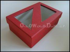 Ekskluzywne pudełko ozdobne z okienkiem