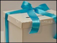 Pudełko na koperty ślubne białe