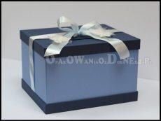 Granatowe pudełko na koperty