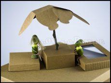 Kolekcja pudełka ozdobne eko w innej perspektywie