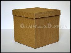 Pudełko ozdobne kostka