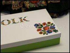 Pudełko ozdobne z nadrukiem
