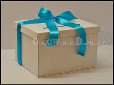 Pudełko na koperty białe